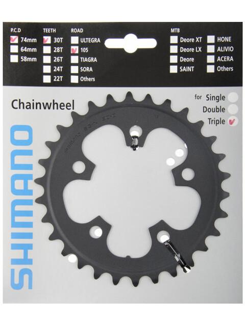 Shimano 105 FC-5703-L Kettenblatt 10-fach schwarz